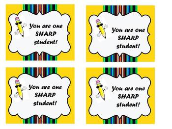 You are one sharp student!