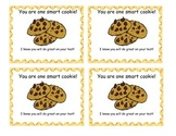 You are one smart cookies gift tag
