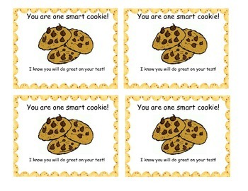 graphic regarding You're One Smart Cookie Printable identified as Youre Just one Clever Cookie Tag Worksheets Instruction Supplies TpT