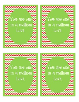 You are worth a million~Christmas note to students
