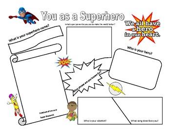 You as a superhero