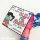 You blew me away - Student Gift Tags for Bubble Wands
