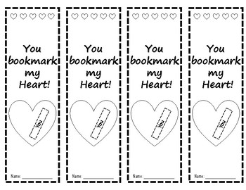 You bookmark my heart