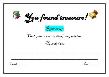 You found treasure certificates