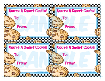 You're A Smart Cookie! Note Cards / National Cookie Day