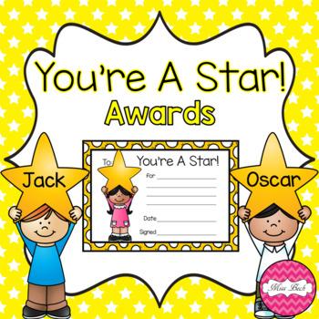 #endoftermdollardeals You're A Star Awards