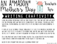 "You're An A""MASON"" Mom... Mother's Day Writing Craftivity"