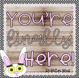 You're Finally Here~ Craft and Writing