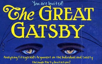 You're Invited to Analyze Gatsby