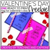 Valentine's Day Gift Tag FREEBIE