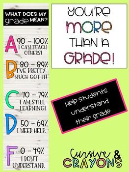 You're More Than A Grade