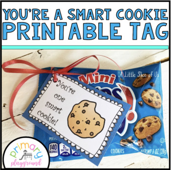 graphic relating to You're One Smart Cookie Printable named Youre A single Good Cookie Free of charge Printable Tag
