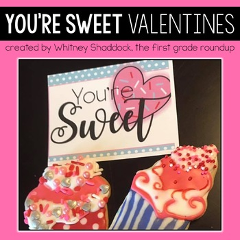 Gift Tags and Valentine Cards: Sweets
