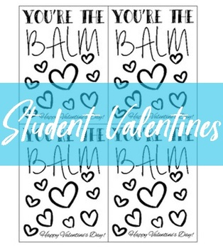 picture regarding You're the Balm Teacher Free Printable referred to as Youre The Balm Worksheets Education Elements TpT