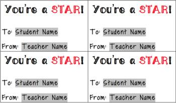 You're a STAR Valentine
