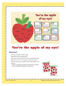 You're the Apple of My Eye! (Bulletin Board)