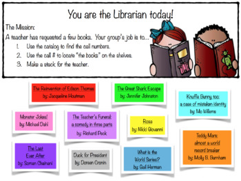 You're the Librarian Game