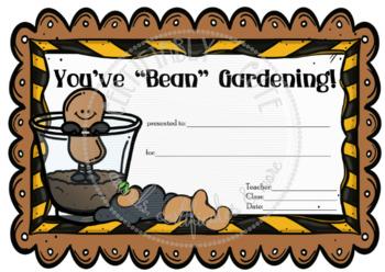 "You've ""Bean"" Gardening!"