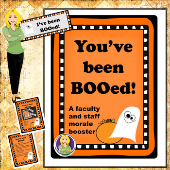 image about You've Been Booed Printable Pdf named Youve Been Booed Worksheets Schooling Elements TpT