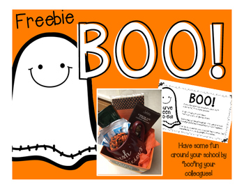 You've Been Boo-ed (Freebie!)