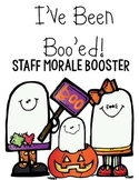 You've Been Boo'ed Staff Morale Booster