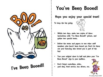 You've Been Booed! (Staff Fun for Halloween)