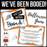 You've Been Booed!/ We've Been Booed! - Halloween Game