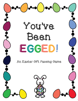 image regarding You've Been Egged Printable identify Youve Been Egged! An Easter Reward Ping Recreation