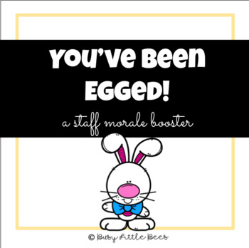 photograph regarding You've Been Egged Printable titled Youve Been Egged - Staff members Morale Booster