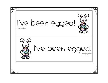 You've Been Egged - Staff Morale Booster