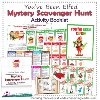 picture about You've Been Elfed Printable identify Youve Been Elfed Routines additionally a Top secret Scavenger Hunt