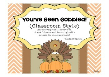 You've Been Gobbled! (Classroom Style)