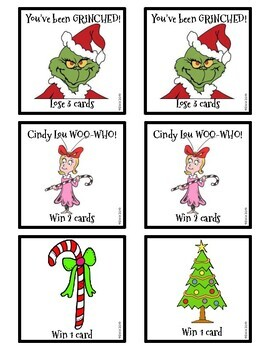 You've Been Grinched! Addition & Subtraction Game