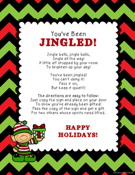 You've Been Jingled! A Christmas Gift Passing Game by ...
