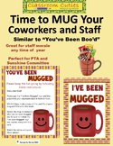 You've Been Mugged Game Printables for Staff