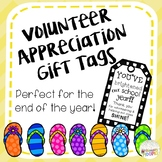 End of Year Volunteer Appreciation Gift Tags: You've Brigh