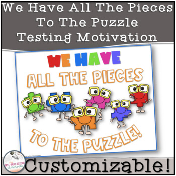 Testing Motivation- You've Got All The Pieces