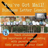 You've Got Mail! Business Letter Lesson