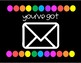 You've Got Mail - Student Mailbox Label Black & Brights