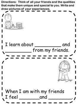 All About Me and You! Let's Be Friends
