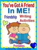 Friendship Writing Activities ~ Printable Fun!