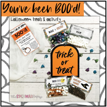 "You've been BOO'd! Halloween Themed ""Staff Sunshine"" & Treat Bag Tags"