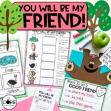 You will be my Friend: Interactive Read Aloud Lesson Plans