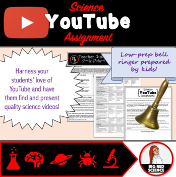 """YouTube """"Alternative Bell ringer"""" Science Assignment"""