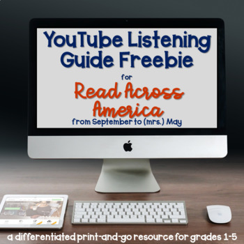 YouTube Listening Guide for Read Across America, Dr. Seuss