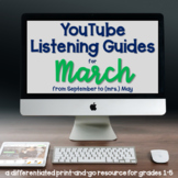 YouTube Listening Guides for March - Read Across America,