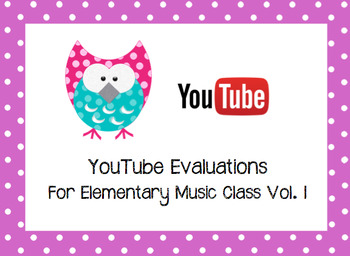 YouTube Music Analysis Worksheet 1