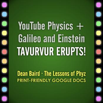 YouTube + PhET Physics: Tavurvur Erupts!