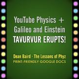 YouTube Physics + Galileo and Einstein: Tavurvur Erupts!