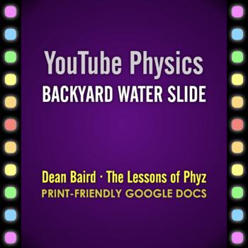 YouTube Physics: Backyard Water Slide